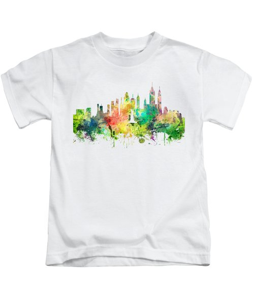 New York Skyline Kids T-Shirt