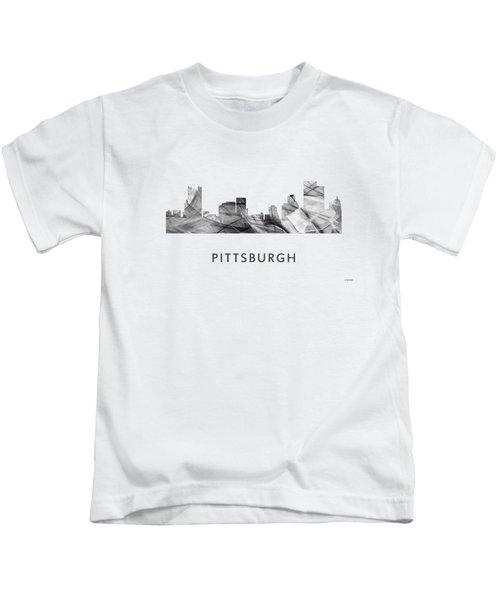 Pittsburgh Pennsylvania Skyline Kids T-Shirt