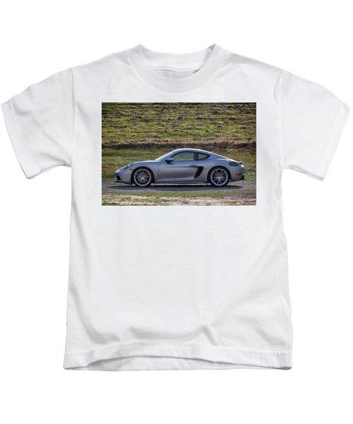 #porsche #718cayman S #print Kids T-Shirt