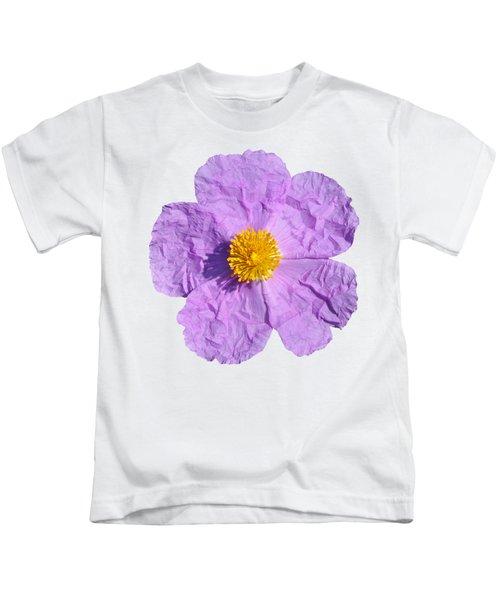Rockrose Flower Kids T-Shirt
