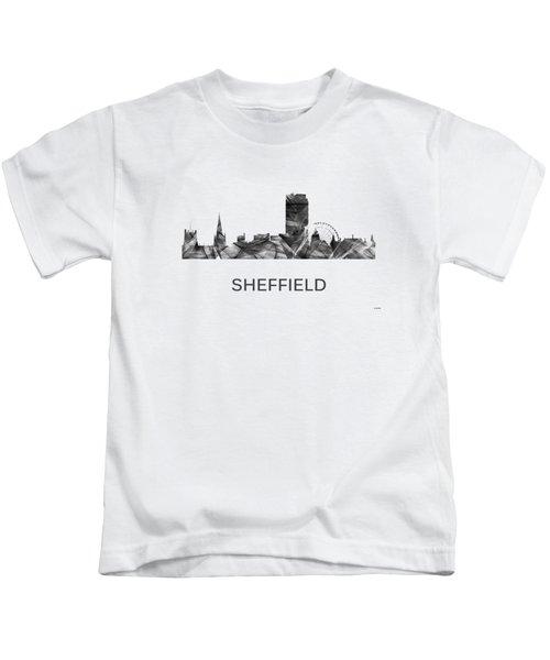 Sheffield England Skyline Kids T-Shirt