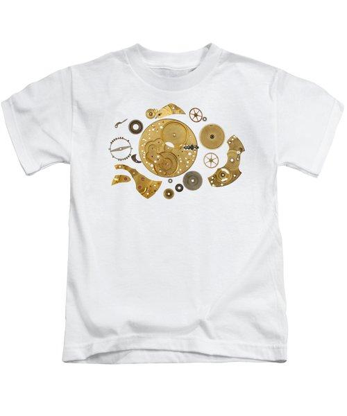 Clockwork Mechanism Kids T-Shirt