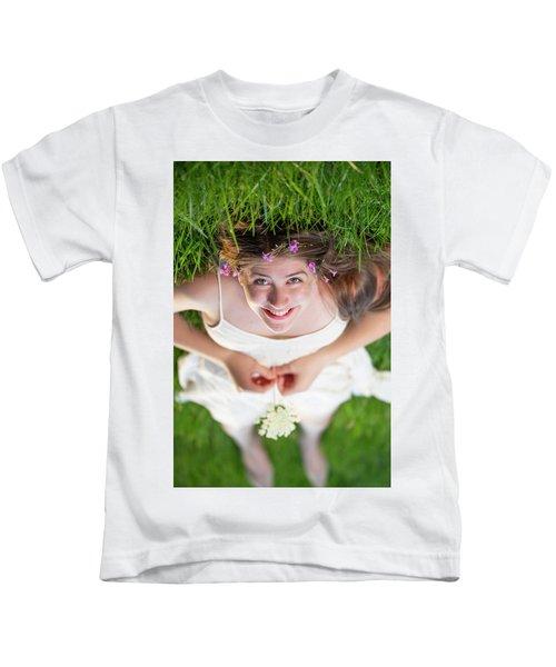 Mckenna Senior Portrait Kids T-Shirt