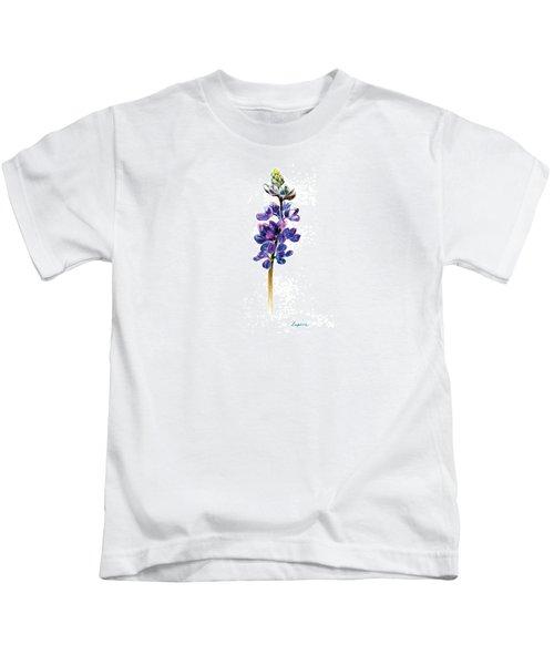 5x7auto Lupine Kids T-Shirt
