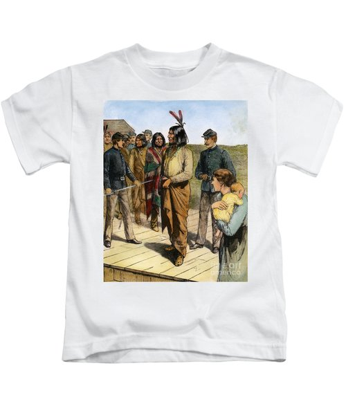 Geronimo 1829-1909.  To License For Professional Use Visit Granger.com Kids T-Shirt