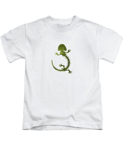 Hellbender Skeleton Kids T-Shirt