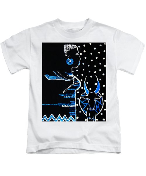 Murle Bride - South Sudan Kids T-Shirt