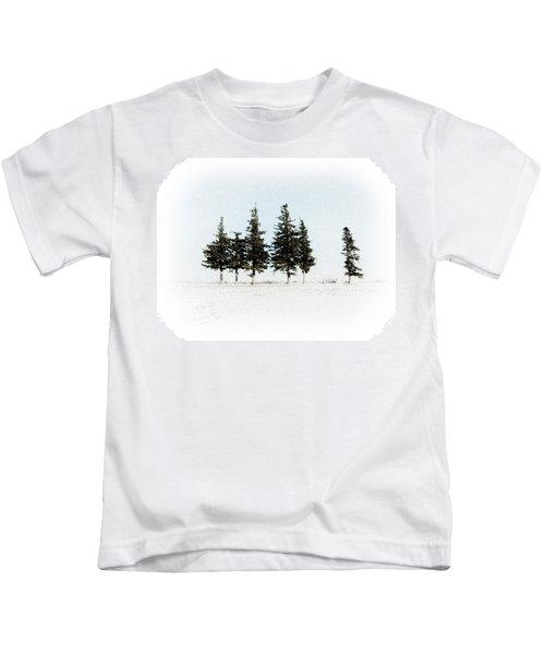 6 Trees Kids T-Shirt