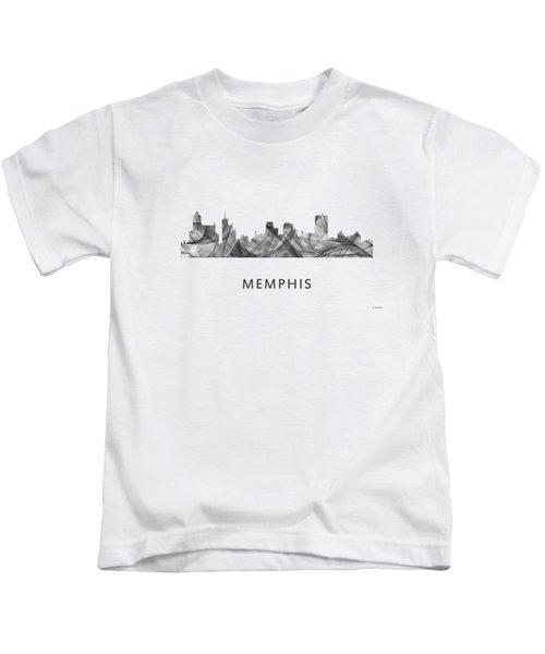 Memphis Tennessee Skyline Kids T-Shirt