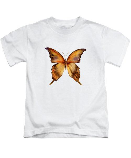 7 Yellow Gorgon Butterfly Kids T-Shirt