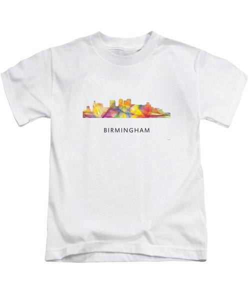 Birmingham Alabama Skyline Kids T-Shirt