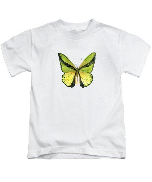 8 Goliath Birdwing Butterfly Kids T-Shirt