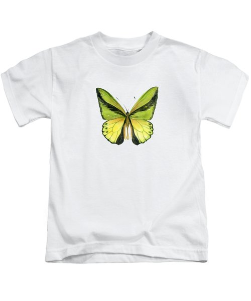 8 Goliath Birdwing Butterfly Kids T-Shirt