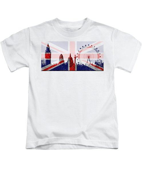 London Skyline Kids T-Shirt