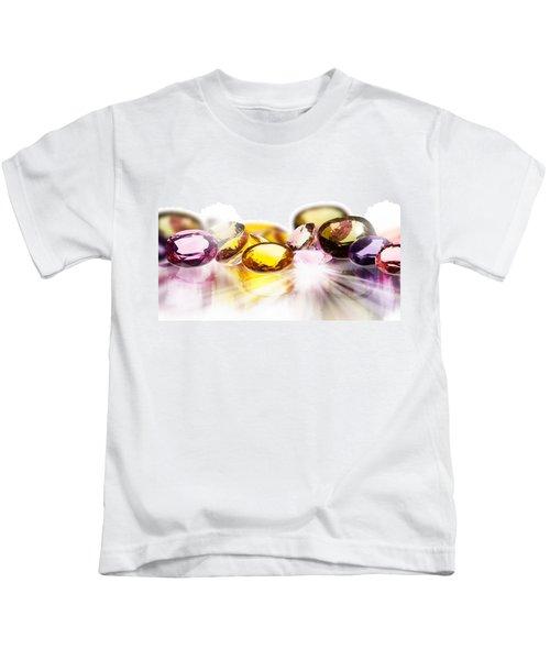 Colorful Gems Kids T-Shirt