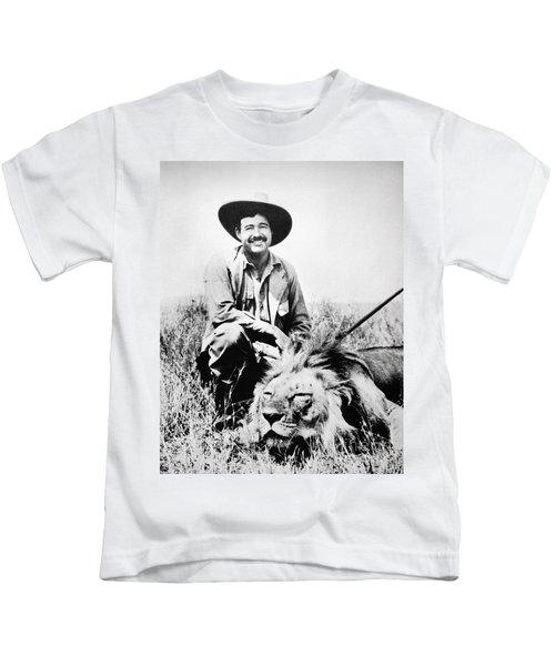Ernest Hemingway Kids T-Shirt