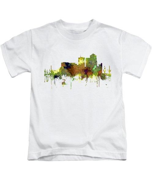 Tucson Arizona Skyline Kids T-Shirt