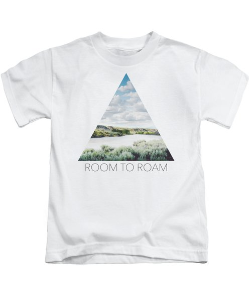 A Bend In The Yellowstone Kids T-Shirt