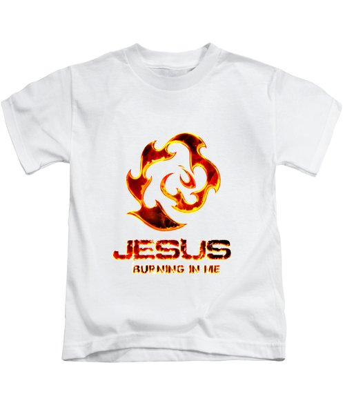 A Burning Bush Kids T-Shirt