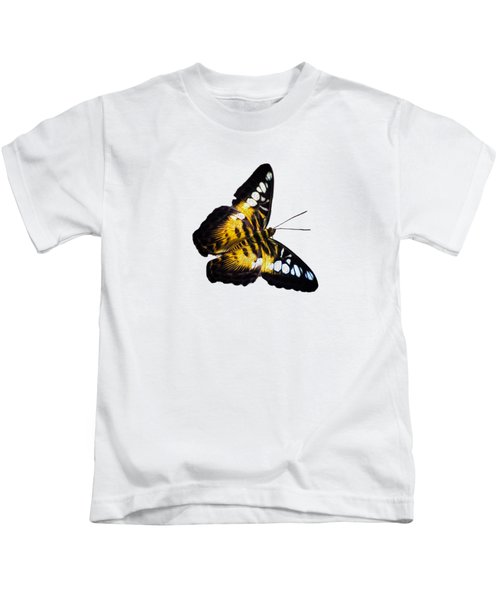 A Butterfly In The Forest Kids T-Shirt