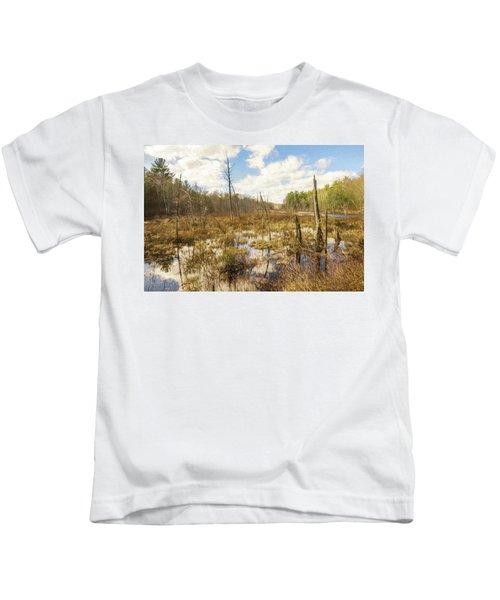 A Connecticut Marsh Kids T-Shirt