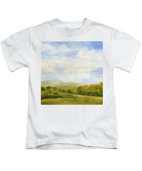A Day In Autumn Kids T-Shirt