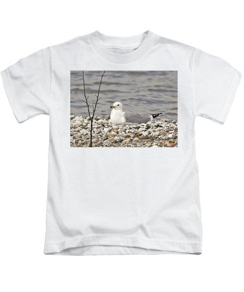 A Few Moments Of Peace Kids T-Shirt