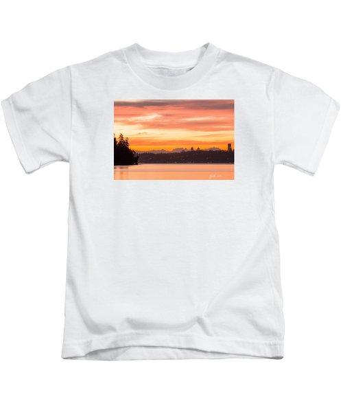 A Glaze Of Orange Kids T-Shirt