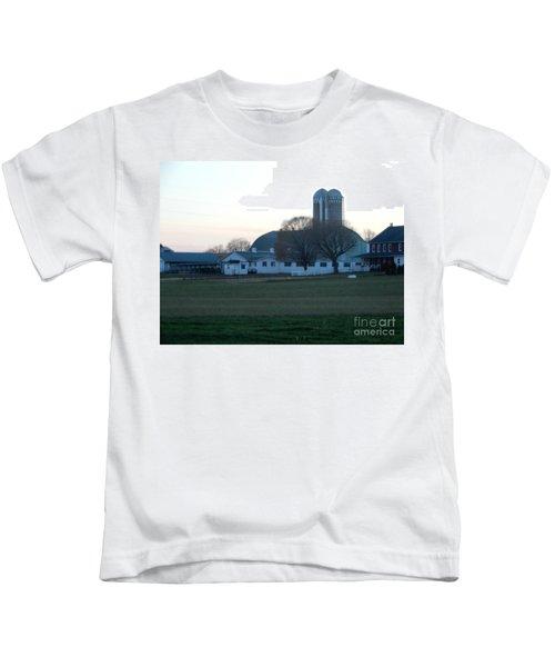 A Glorious Amish Evening Kids T-Shirt