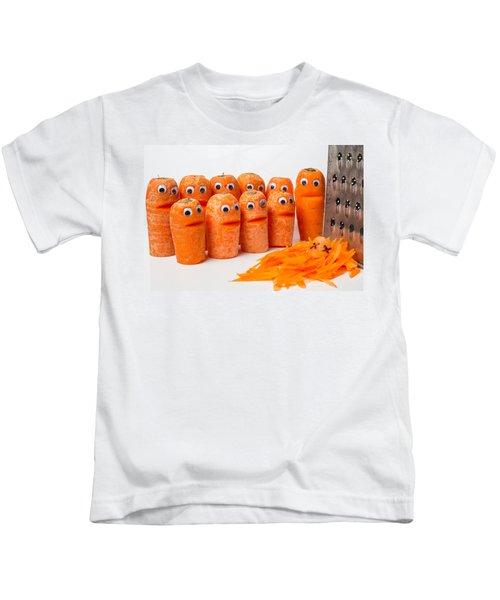 A Grate Carrot 1. Kids T-Shirt