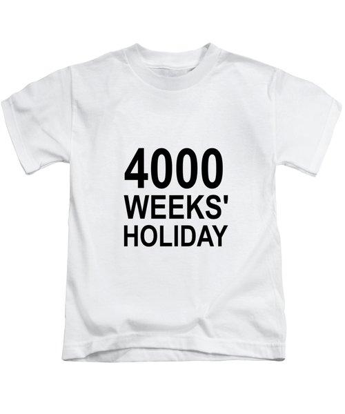 A Lifetime Kids T-Shirt