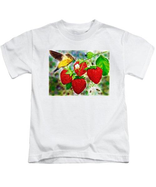 A Midsummer Daydream Kids T-Shirt by Asha Aravind