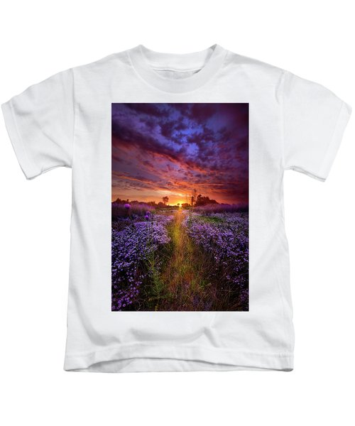A Peaceful Proposition Kids T-Shirt