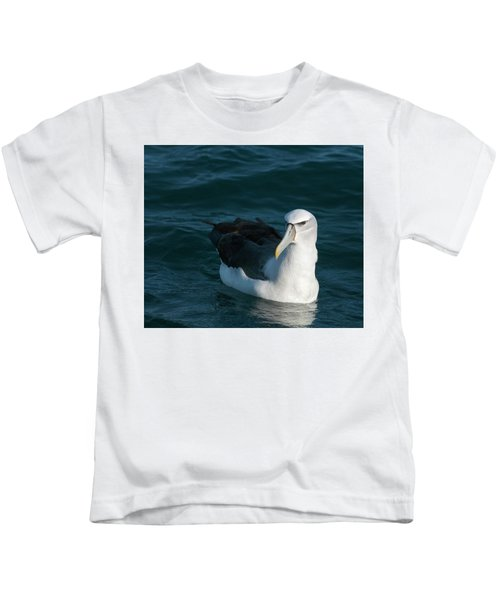 A Portrait Of An Albatross Kids T-Shirt