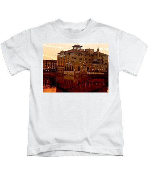 A River Of Gold Kids T-Shirt