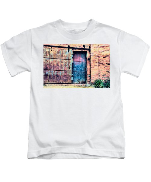 A Rusty Loading Dock Door Kids T-Shirt