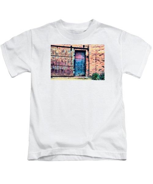 A Rusty Loading Dock Door Kids T-Shirt