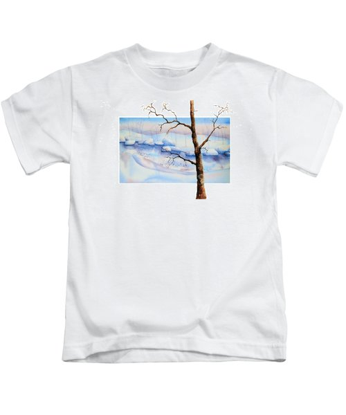 A Tree In Another Dimension Kids T-Shirt