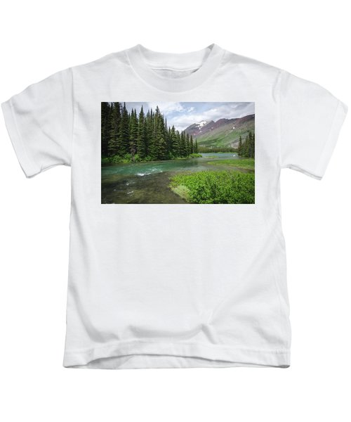 A Walk In The Forest Kids T-Shirt