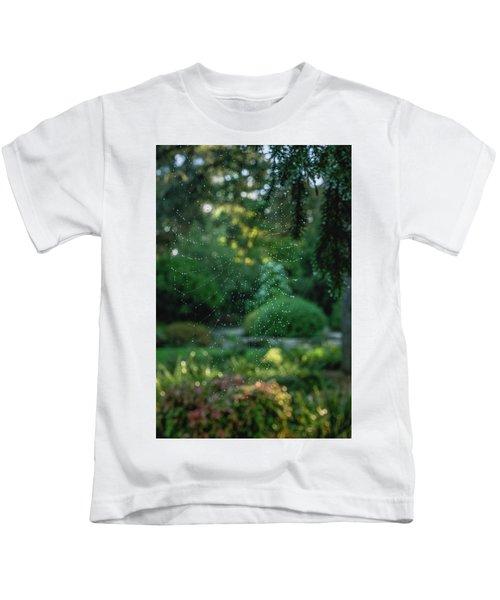 Morning Web Kids T-Shirt