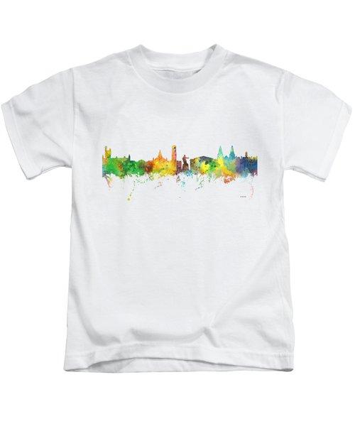Aberdeen Scotland Skyline Kids T-Shirt