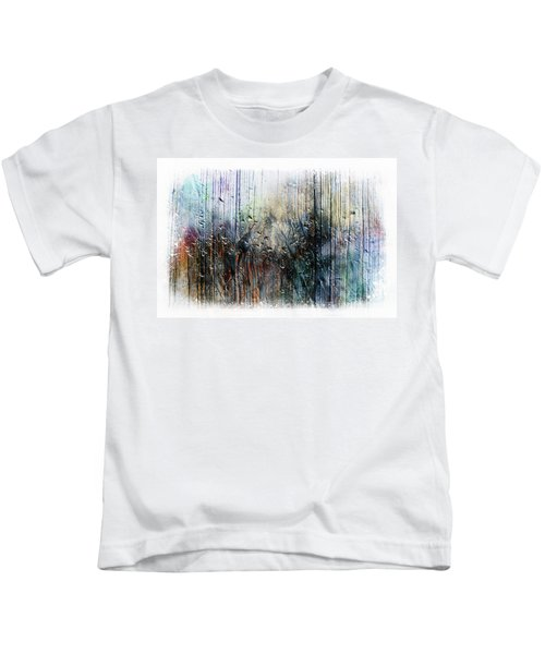 2f Abstract Expressionism Digital Painting Kids T-Shirt