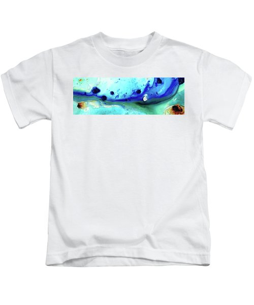 Abstract Art - Making Waves - Sharon Cummings Kids T-Shirt