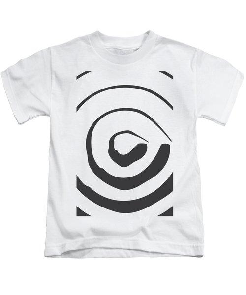 Abstract Art Perspective - Circle Kids T-Shirt