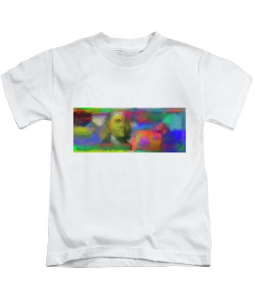 Abstract Colorized One Hundred Us Dollar Bill Abstract Colorized One Hundred Us Dollar Bill  Kids T-Shirt