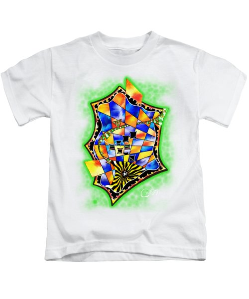 Abstract Digital Art - Stavoris V3 Kids T-Shirt
