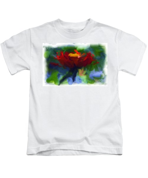 Abstract Flower Expressions 2 Kids T-Shirt