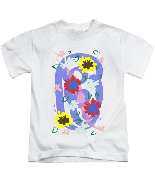 Abstract Garden #1 Kids T-Shirt