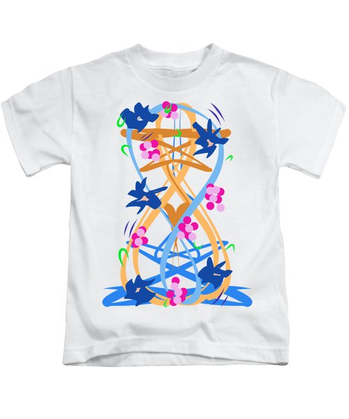 Abstract Garden #3 Kids T-Shirt