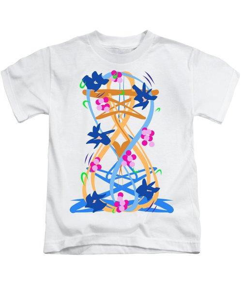 Abstract Garden #3 Kids T-Shirt